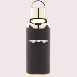 KATE SPADE Lenox Cat silicone sleeve tumbler NWT